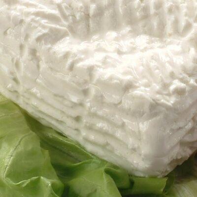 """Fresh cow milk cheese called """"Giuncata"""""""